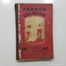Libros antiguos: AGENDA CULINARIA 1932 POR LA DUQUESA LAURA. Lote 193817855