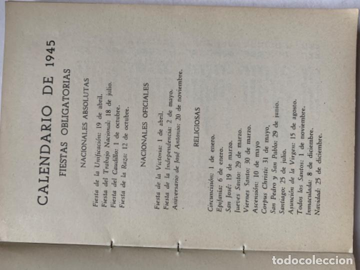 Libros antiguos: Almanaque del Café Castilla Madrid 1945 - Foto 4 - 193821246