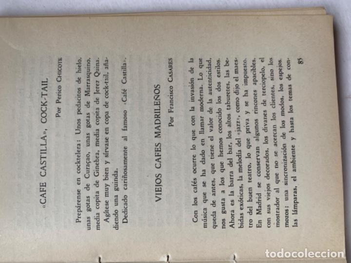 Libros antiguos: Almanaque del Café Castilla Madrid 1945 - Foto 6 - 193821246