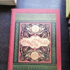 Libros antiguos: LA DAMA DE LAS CAMELIAS POR ALEJANDRO DUMAS HIJO ILUSTRADAS CON CROMOS D. EUSEBIO PLANAS, AÑO 1879. Lote 193908253