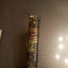 Libri antichi: ABATE D. LORENZO HERVÁS Y PANDURO. HISTORIA DE LA VIDA DEL HOMBRE. TOMO V. 1798. Lote 193001690