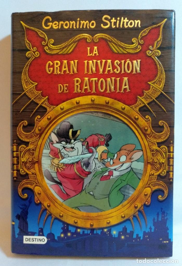 Libros antiguos: 12 Libros de Geronimo Stilton y Tea Stilton,todos de tapa dura y la mayoria gordos - Foto 8 - 194078960