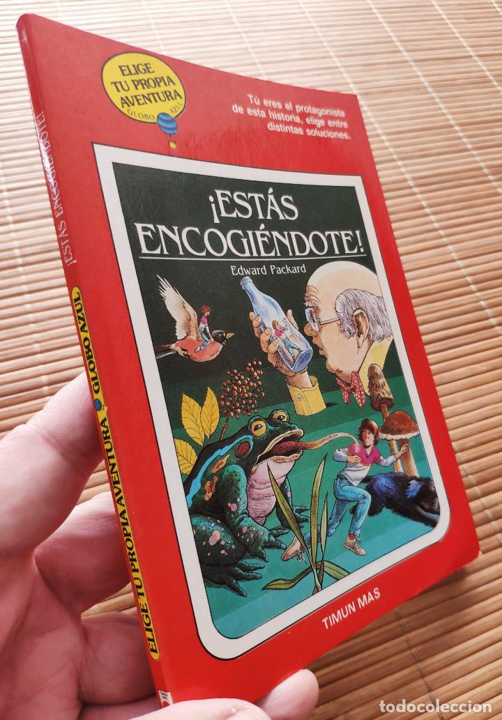 Libros antiguos: ELIGE TU PROPIA AVENTURA Nº 4 GLOBO AZUL - ESTÁS ENCOGIENDOTE - TIMUN MAS - Foto 2 - 194083647