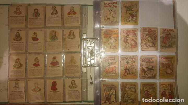 Libros antiguos: Archivador con 294 mini cuentos de calleja antiguos originales , leer descripcion - Foto 3 - 194089111