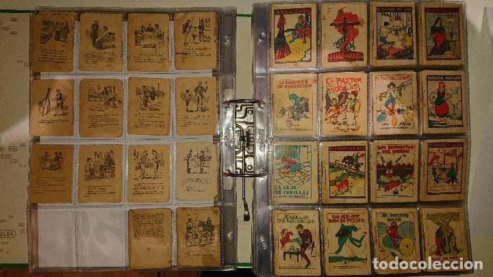 Libros antiguos: Archivador con 294 mini cuentos de calleja antiguos originales , leer descripcion - Foto 6 - 194089111