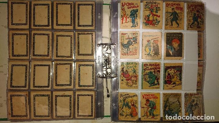 Libros antiguos: Archivador con 294 mini cuentos de calleja antiguos originales , leer descripcion - Foto 8 - 194089111