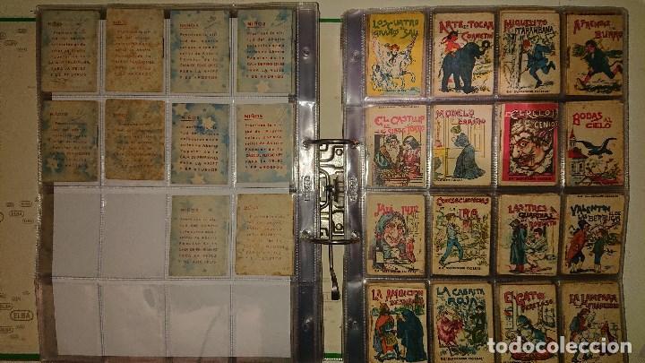 Libros antiguos: Archivador con 294 mini cuentos de calleja antiguos originales , leer descripcion - Foto 13 - 194089111