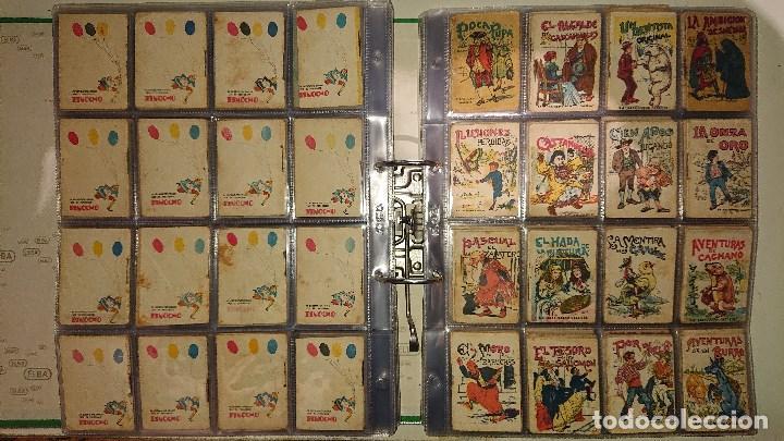 Libros antiguos: Archivador con 294 mini cuentos de calleja antiguos originales , leer descripcion - Foto 14 - 194089111