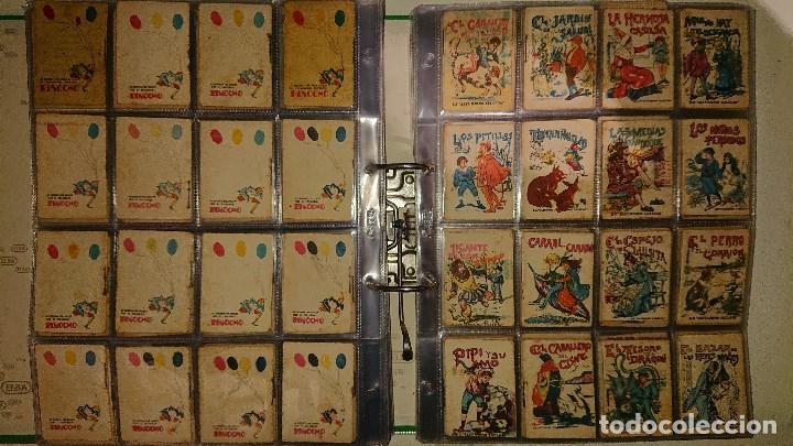 Libros antiguos: Archivador con 294 mini cuentos de calleja antiguos originales , leer descripcion - Foto 15 - 194089111