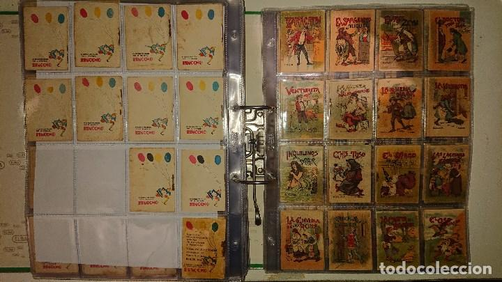 Libros antiguos: Archivador con 294 mini cuentos de calleja antiguos originales , leer descripcion - Foto 19 - 194089111