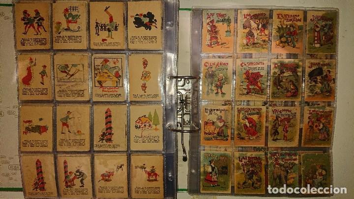 Libros antiguos: Archivador con 294 mini cuentos de calleja antiguos originales , leer descripcion - Foto 20 - 194089111