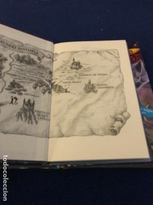 Libros antiguos: LOTE Corazón de dragón nºS 1 2 3 8 FLECHA DE PLATA CABALLERO PIEDRA MAGO CIEGO ETC Thomas Brezina SM - Foto 11 - 194113142