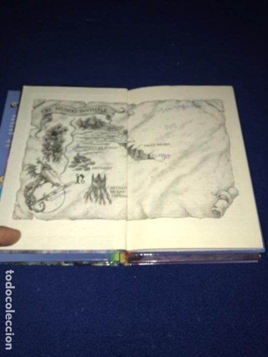 Libros antiguos: LOTE Corazón de dragón nºS 1 2 3 8 FLECHA DE PLATA CABALLERO PIEDRA MAGO CIEGO ETC Thomas Brezina SM - Foto 12 - 194113142