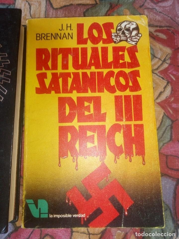 Libros antiguos: Lote 3 títulos III Reich Historia de la gestapo - Foto 6 - 194197291