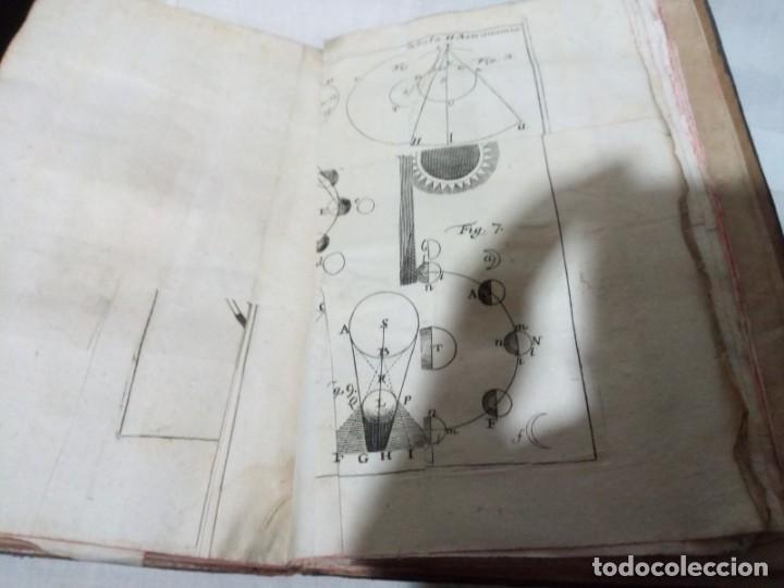 Libros antiguos: ~~~~ ELEMENTA PHYSICAE, PETRO MUSSCHENBROEK - 1800, 2º TOMO, GRABADOS DESPLEGABLES. ~~~~ - Foto 4 - 194203837