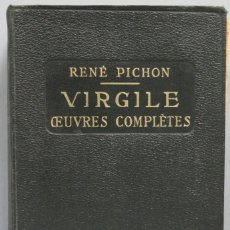 Libros antiguos: 1926.- OEUVRES COMPLETES. VIRGILE. Lote 194213100