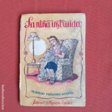 Libros antiguos: LA NIÑA INSTRUIDA. VICTORINO FERNÁNDEZ. Lote 194218155