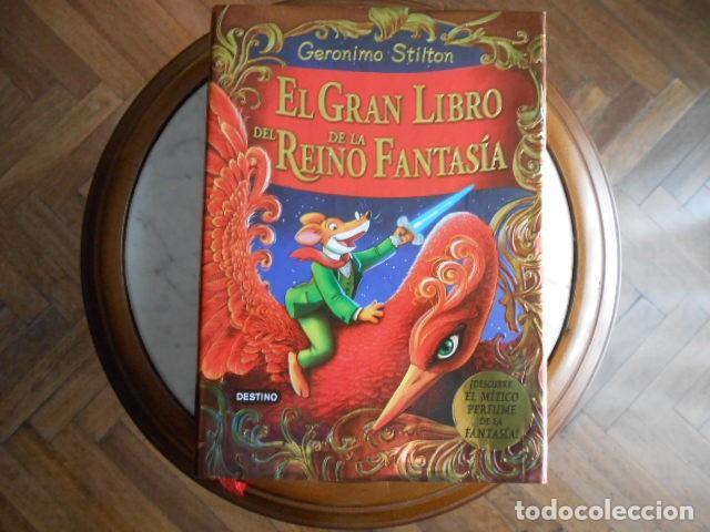 EL GRAN LIBRO DEL REINO DE LA FANTASIA DE GERÓNIMO STILTON (Libros Antiguos, Raros y Curiosos - Literatura Infantil y Juvenil - Otros)