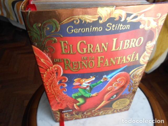 Libros antiguos: EL GRAN LIBRO DEL REINO DE LA FANTASIA DE GERÓNIMO STILTON - Foto 5 - 194220782