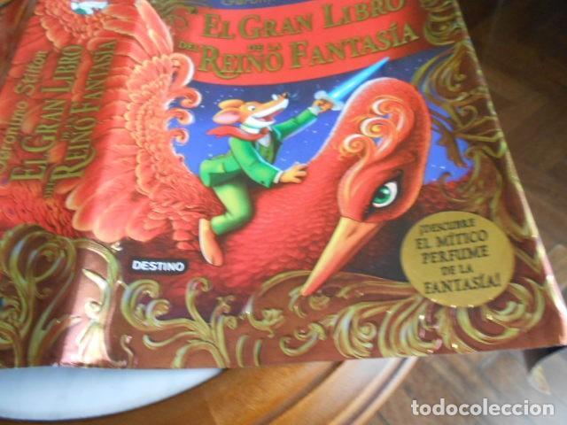 Libros antiguos: EL GRAN LIBRO DEL REINO DE LA FANTASIA DE GERÓNIMO STILTON - Foto 7 - 194220782