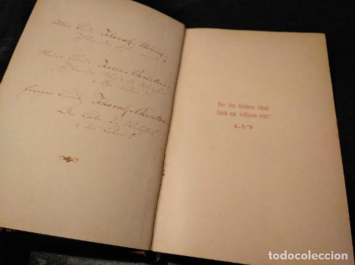 Libros antiguos: Libro raro (1888): Leben; organische Philosophie und Poesie, Geistes-ehe - Josua Klein (1867-1945) - Foto 5 - 194221216