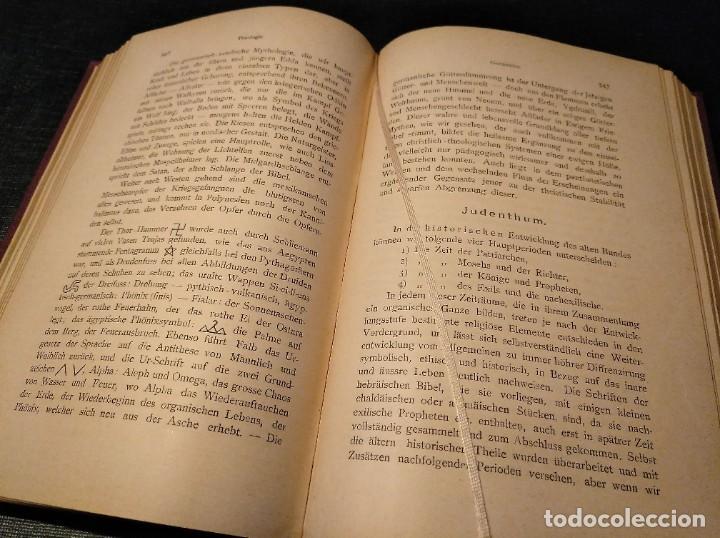 Libros antiguos: Libro raro (1888): Leben; organische Philosophie und Poesie, Geistes-ehe - Josua Klein (1867-1945) - Foto 8 - 194221216