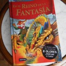 Libros antiguos: EN EL REINO DE LA FANTASIA DE GERÓNIMO STILTON. Lote 194221872
