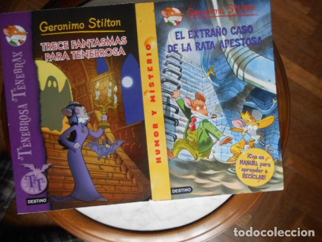 GERONIMO STILTON DOS LIBROS (Libros Antiguos, Raros y Curiosos - Bellas artes, ocio y coleccionismo - Otros)
