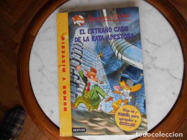Libros antiguos: GERONIMO STILTON DOS LIBROS - Foto 4 - 194222752