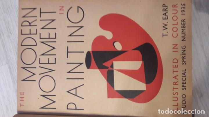 Libros antiguos: The modern movement in painting - Foto 1 - 194223891