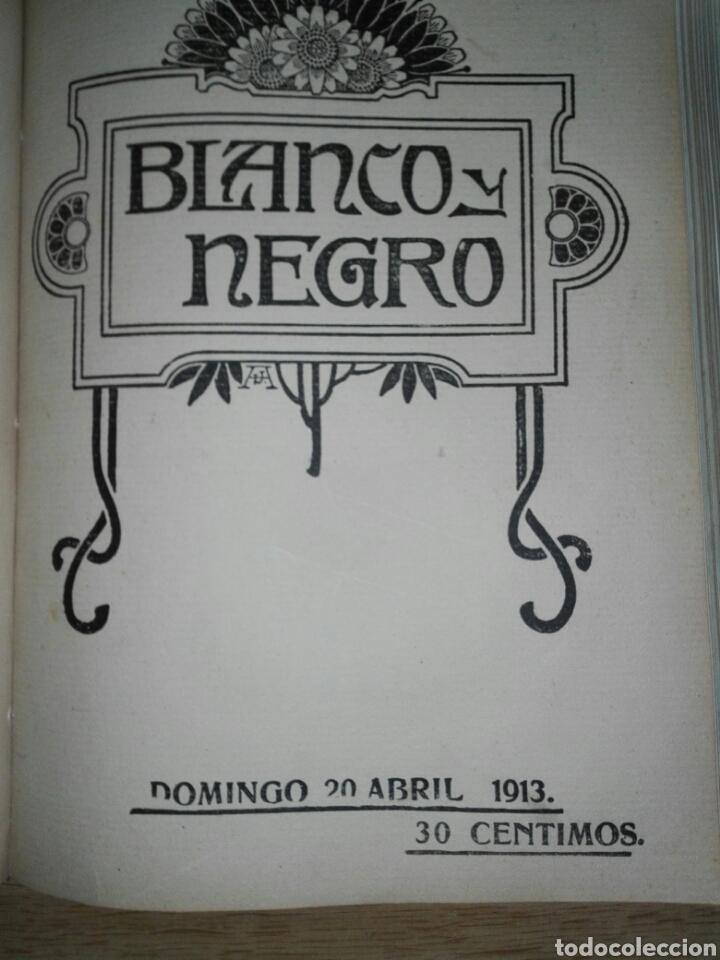Libros antiguos: Blanco y negro 1913 - Foto 7 - 194224822