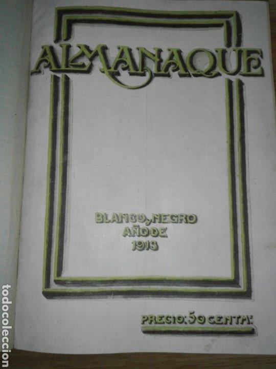 Libros antiguos: Blanco y negro 1913 - Foto 8 - 194224822