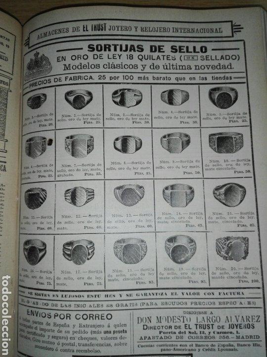 Libros antiguos: Blanco y negro 1913 - Foto 10 - 194224822