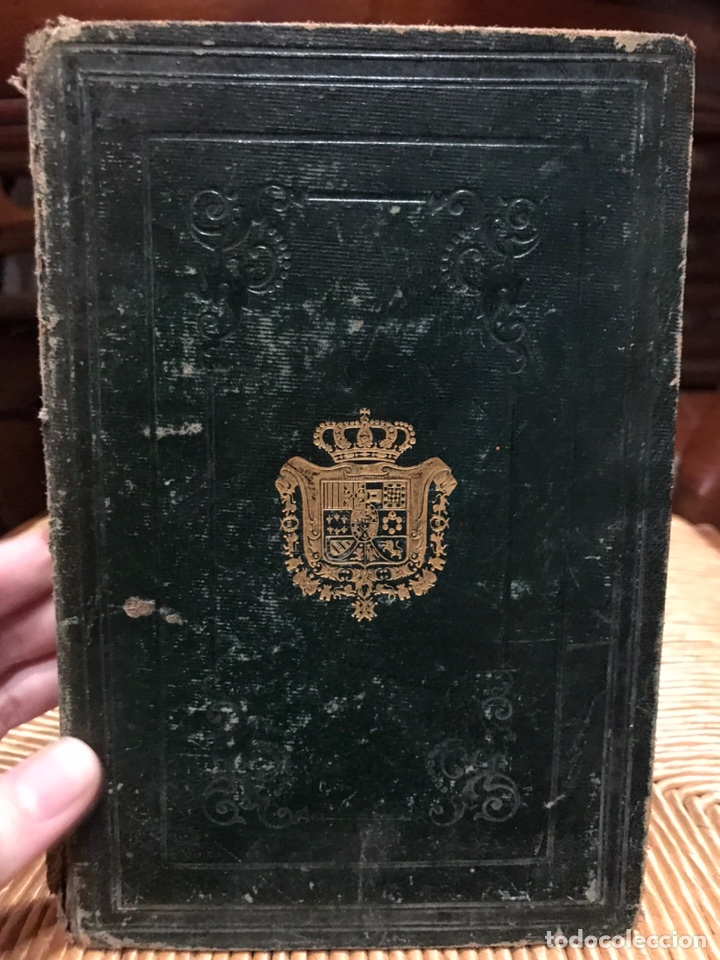 LIBRO GUÍA DE FORASTEROS AÑO1865 (Libros Antiguos, Raros y Curiosos - Historia - Otros)