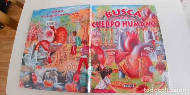 BUSCA EN EL CUERPO HUMANO,SUSAETA,TAPA DURA,,NUEVO (Libros Antiguos, Raros y Curiosos - Literatura Infantil y Juvenil - Otros)