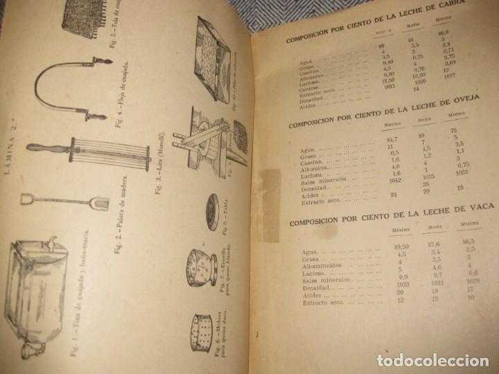 Libros antiguos: antiguo librito fabricacion de quesos . ministerio agricultura. fulgencio portero - Foto 4 - 194236483