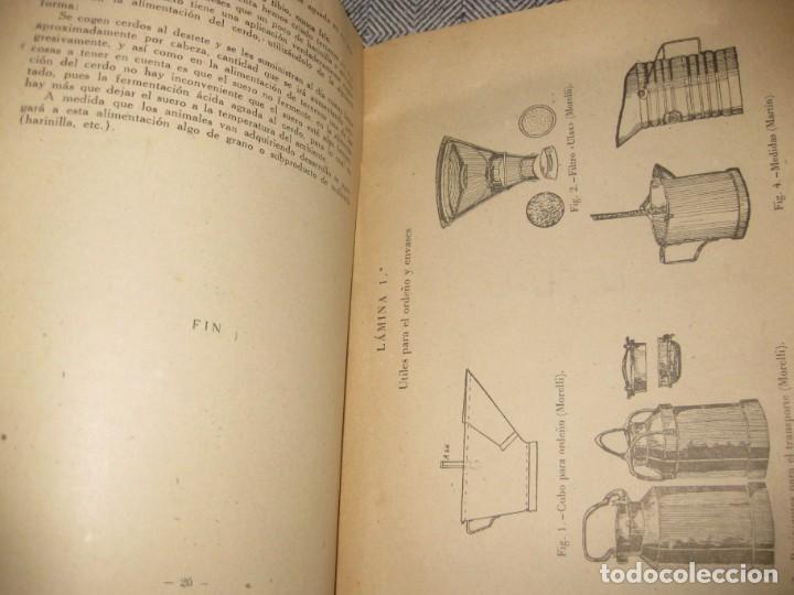 Libros antiguos: antiguo librito fabricacion de quesos . ministerio agricultura. fulgencio portero - Foto 5 - 194236483