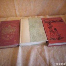 Libros antiguos: EN QUARANTAINE,1882,UNE PRINCESSE EN SERVITUDE,LES DISCOURS DU DOCTEUR O´GRAY 1937,FRANCES. Lote 194247266