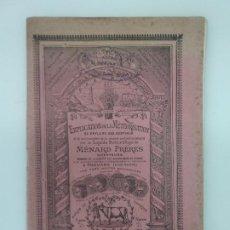 Libros antiguos: FRERES, MENARD / EXPLICATION DE LA METEORISATION OU ENFLURE DES BESTIAUX - VETERINARIA - 1900 APROX. Lote 194278165