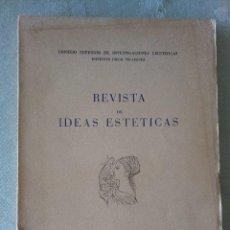 Libros antiguos: REVISTA DE IDEAS ESTETICAS.Nº 121 .1973.CONSEJO SUPERIOR DE UNVESTIGACIONES CIENTIFICAS. Lote 194287625