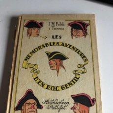 Libros antiguos: LES MÉMORABLES AVENTURES D EN ROC GENTIL. Lote 194296857