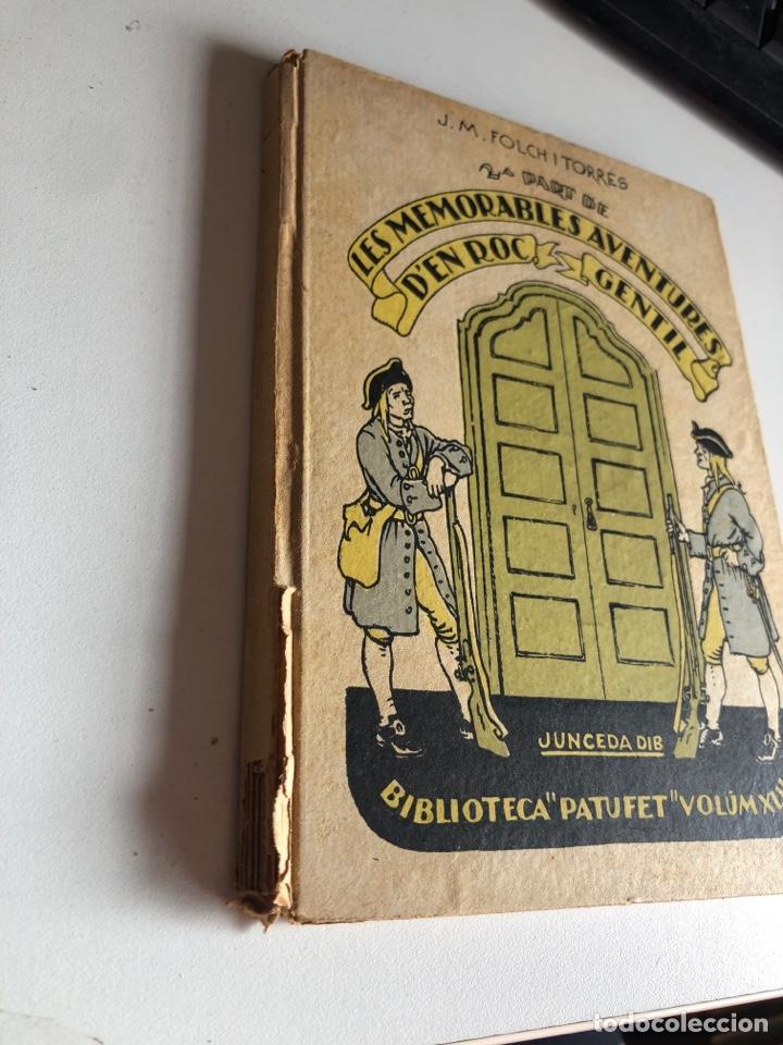 Libros antiguos: Les memorables aventures d en roc gentil - Foto 2 - 194297183