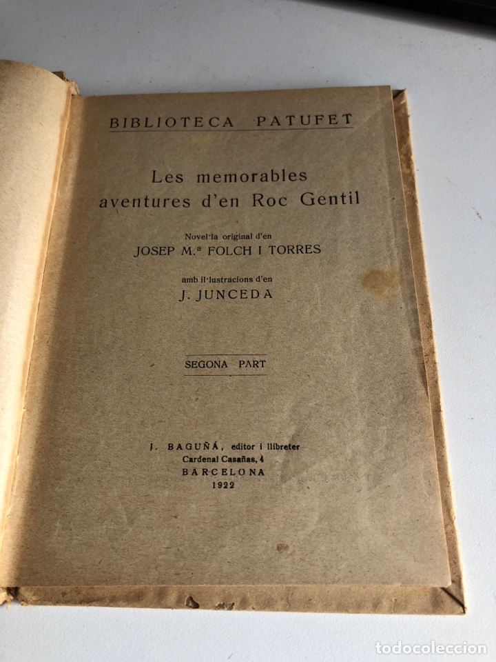 Libros antiguos: Les memorables aventures d en roc gentil - Foto 3 - 194297183