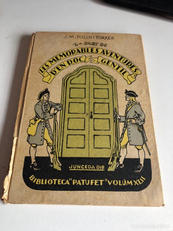 LES MEMORABLES AVENTURES D EN ROC GENTIL (Libros Antiguos, Raros y Curiosos - Literatura - Otros)