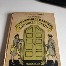 Libros antiguos: LES MEMORABLES AVENTURES D EN ROC GENTIL. Lote 194297183