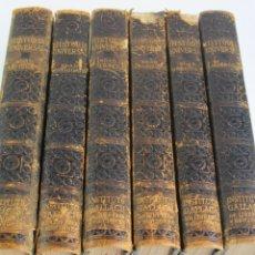 Libros antiguos: L- HISTORIA UNIVERSAL.VARIOS AUTORES. INSTITUTO GALLACH. 1932-1937. 6 TOMOS. . Lote 194299350