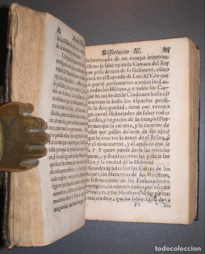 Libros antiguos: MOYNE, Pedro: ARTE DE HISTORIA... Trad. por el P.Fco. García. Madrid, Impr. Imperial 1676. - Foto 2 - 194319326