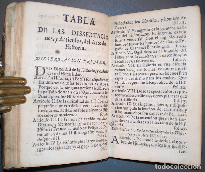 Libros antiguos: MOYNE, Pedro: ARTE DE HISTORIA... Trad. por el P.Fco. García. Madrid, Impr. Imperial 1676. - Foto 6 - 194319326