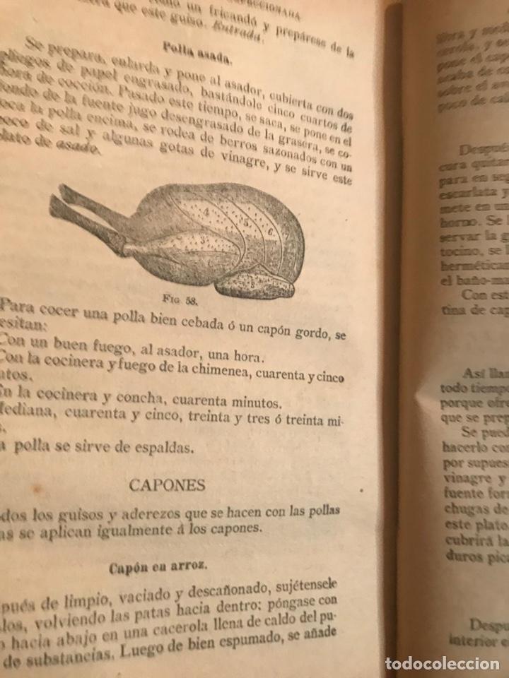 Libros antiguos: La Cocina Moderna perfeccionada - Saenz de Jubera hnos. Madrid. - Foto 3 - 194319731