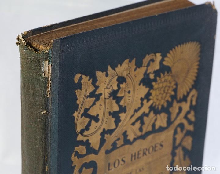 Libros antiguos: Los héroes de las cruzadas - Pedro Umbert - Imprenta de Henrich y Comp. en Comandita - Foto 4 - 194322962